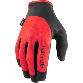 Cube X NF Long Finger Gloves, black/red